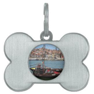 Barco de Oporto Offley, Portugal Placas De Nombre De Mascota