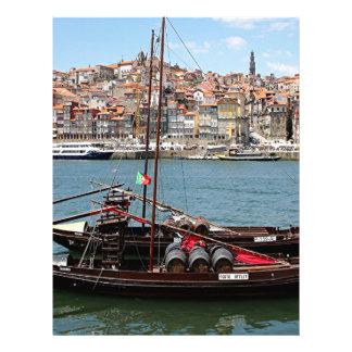 Barco de Oporto Offley, Portugal Plantilla De Membrete