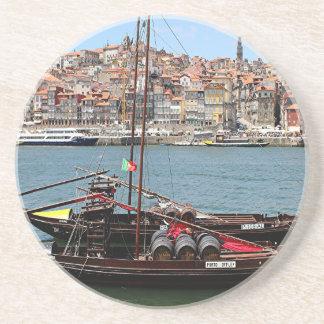 Barco de Oporto Offley, Portugal Posavasos Personalizados