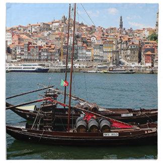 Barco de Oporto Offley, Portugal Servilleta