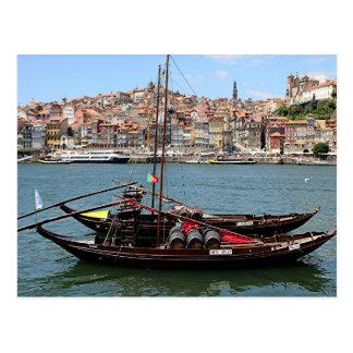 Barco de Oporto Offley, Portugal Tarjetas Postales
