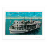 Barco de parte inferior de cristal en Avalon, isla Tarjetas Postales