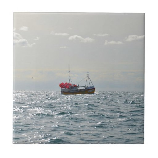 Barco de pesca Amanda Jane Azulejo
