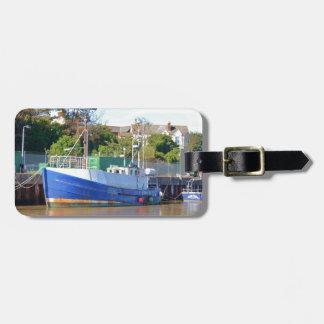Barco de pesca Brocklesby Etiquetas Bolsa