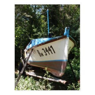 Barco de pesca búlgaro postal