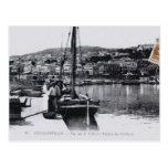Barco de pesca de Argelia Philippeville del vintag Tarjetas Postales