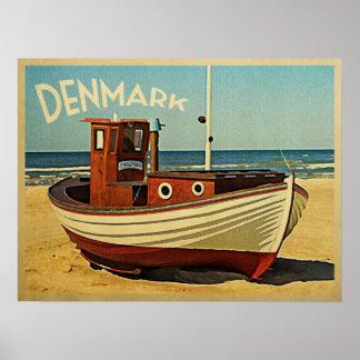 Barco de pesca de Dinamarca Impresiones