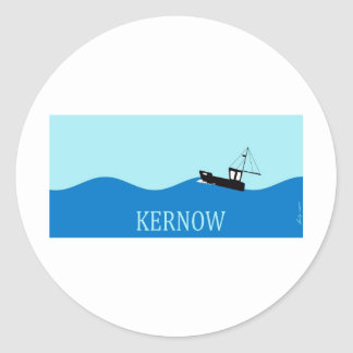 Barco de pesca de Kernow Etiquetas