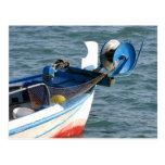 Barco de pesca en Katakolon Grecia Tarjetas Postales