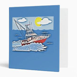 """Barco de pesca en los altos mares carpeta 1"""""""