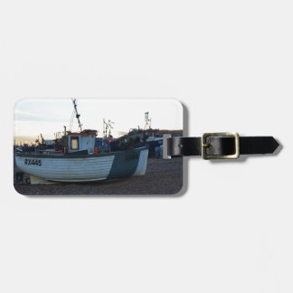 Barco de pesca Guillermo Henry Etiqueta De Equipaje