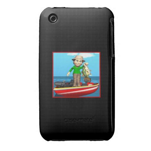 Barco de pesca iPhone 3 carcasas