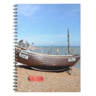 Barco de pesca Mona Lisa Cuaderno