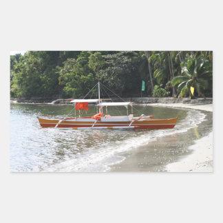 Barco de pesca rectangular altavoces