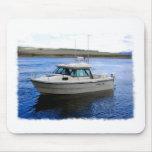 Barco de pesca tapetes de raton