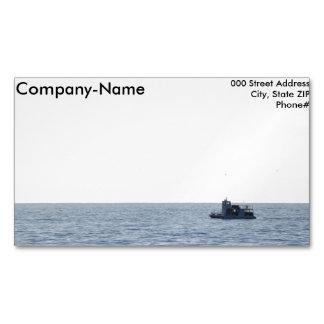 Barco de pesca tarjetas de visita magnéticas (paquete de 25)