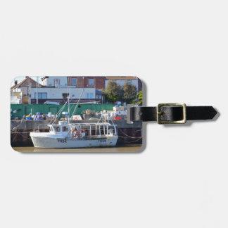 Barco de pesca YH 34 Etiquetas De Equipaje