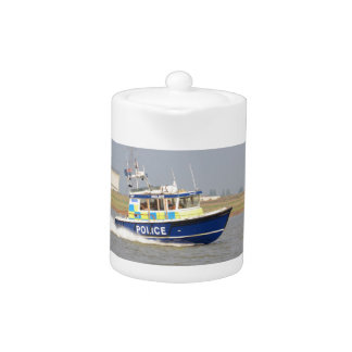 Barco de policía de alta velocidad