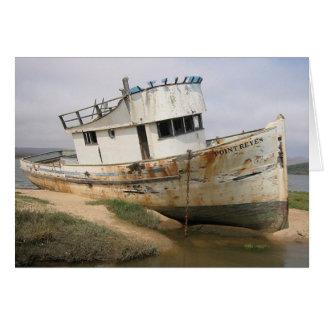 Barco de Reyes del punto Tarjeta De Felicitación