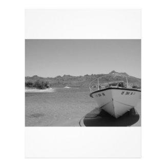 "barco de río del bw folleto 8.5"" x 11"""