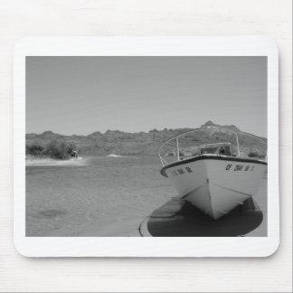 barco de río del bw mouse pads