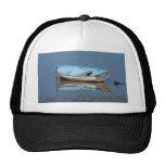 Barco de rowing azul gorras