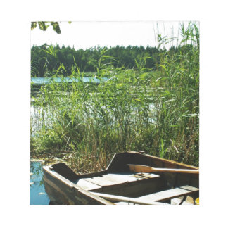 Barco de Rowing de madera Blocs De Notas