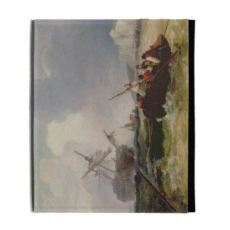 Barco de Rowing que va a la ayuda de una guerra de