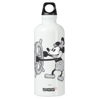 Barco de vapor clásico Willie de Mickey el | Botella De Agua