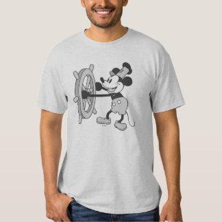 Barco de vapor clásico Willie de Mickey el | Poleras
