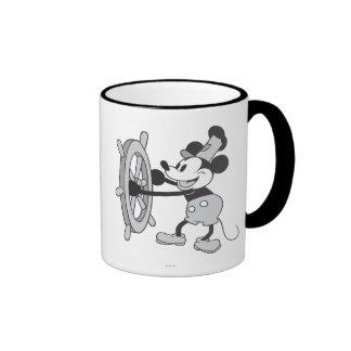 Barco de vapor clásico Willie de Mickey el | Taza De Dos Colores