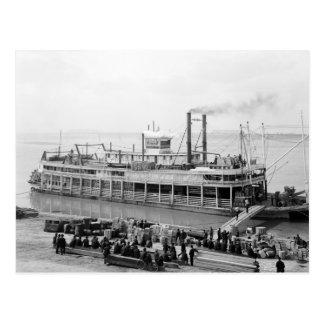 Barco de vapor Georgia Lee: 1907 Tarjeta Postal