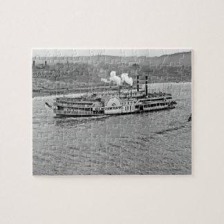 "Barco de vapor rompecabezas de ""Cincinnati"" 1906"