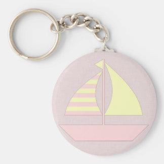 Barco de vela llaveros personalizados