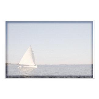 Barco de vela papeleria personalizada