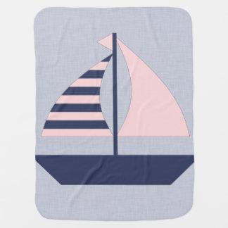 Barco de vela mantita para bebé