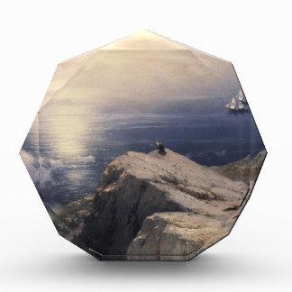 Barco del agua del vintage de Ivan Aivazovsky que
