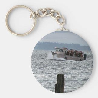 Barco del cangrejo llavero personalizado