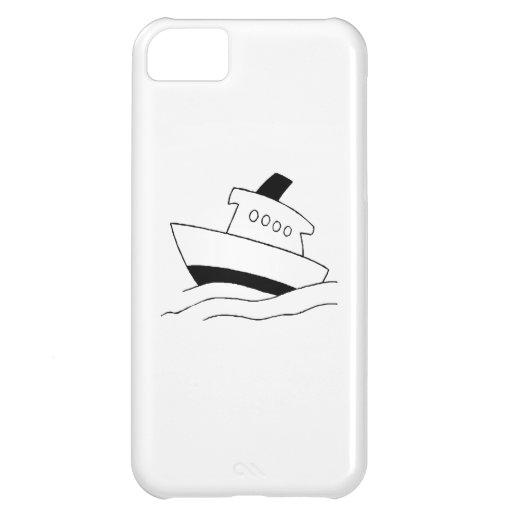 Barco del dibujo animado