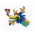 Barco del dragón postales