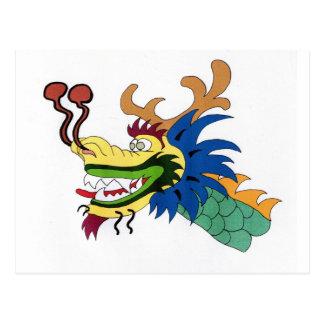 Barco del dragón postal