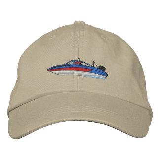 Barco del esquí gorra bordada