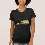 Barco del poder del coche de Eco Camisetas