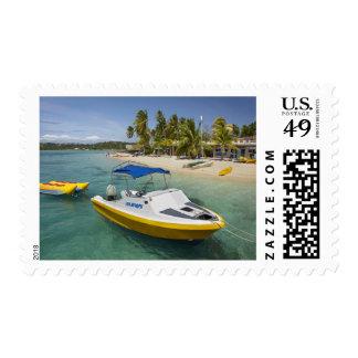 Barco del Powerboat y de plátano Envio
