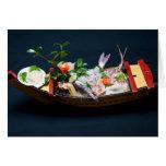 Barco del Sashimi Tarjetas