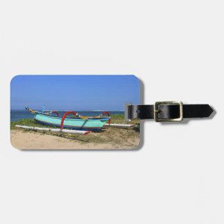 Barco del soporte etiquetas para maletas