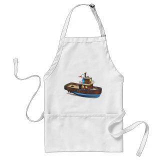 Barco del tirón delantal