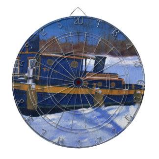 Barco del tirón tablero dardos