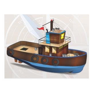 Barco del tirón postal