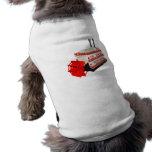 Barco del vapor camisetas de mascota